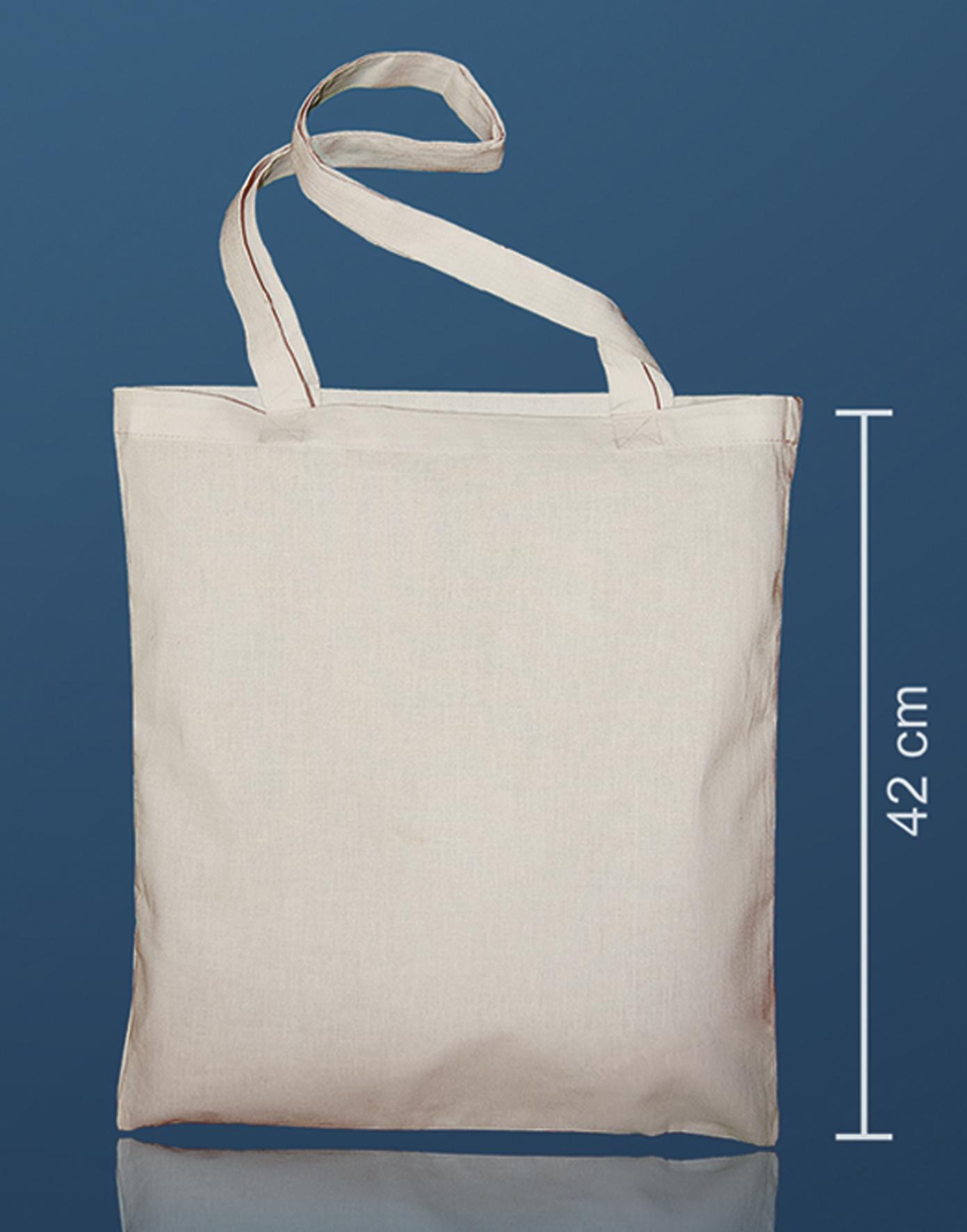 3bfc02f9056 Full colour katoenen tas bedrukken vanaf 1 stuk | lange hengels | Kleine  oplage