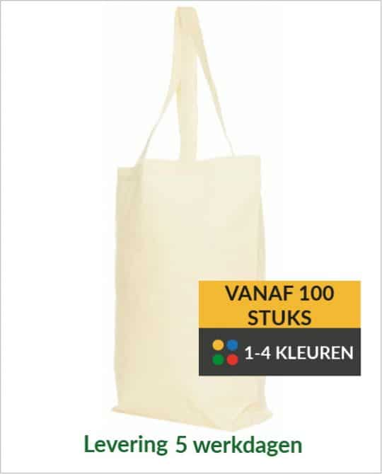 Katoenen shopper